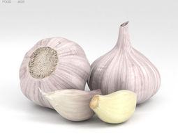 3D Garlic garden