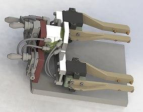Assemble the manipulator mechanism 3D