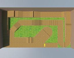 rc track 3D asset
