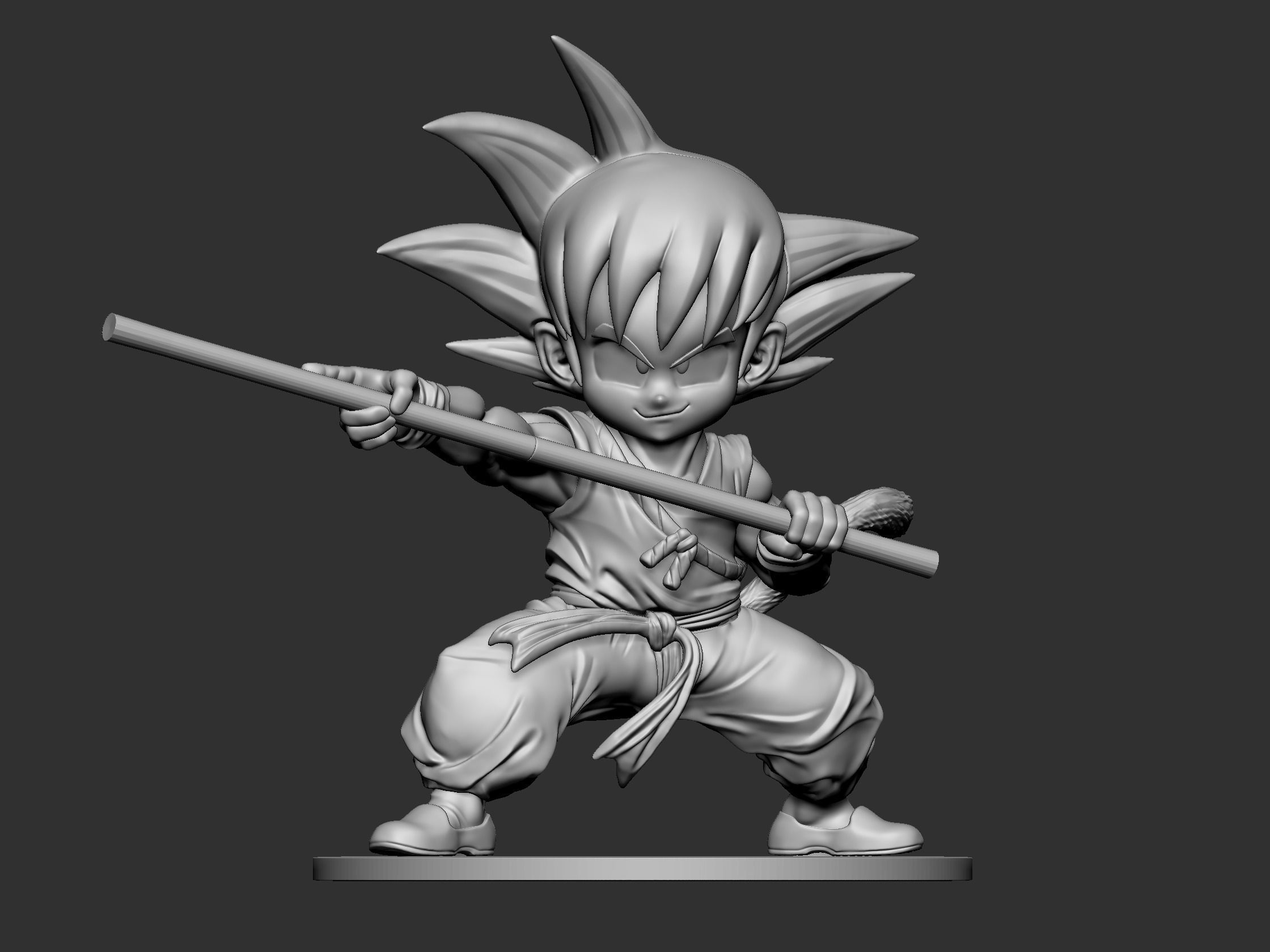Child Go-Ku Fan Art for 3DPrint