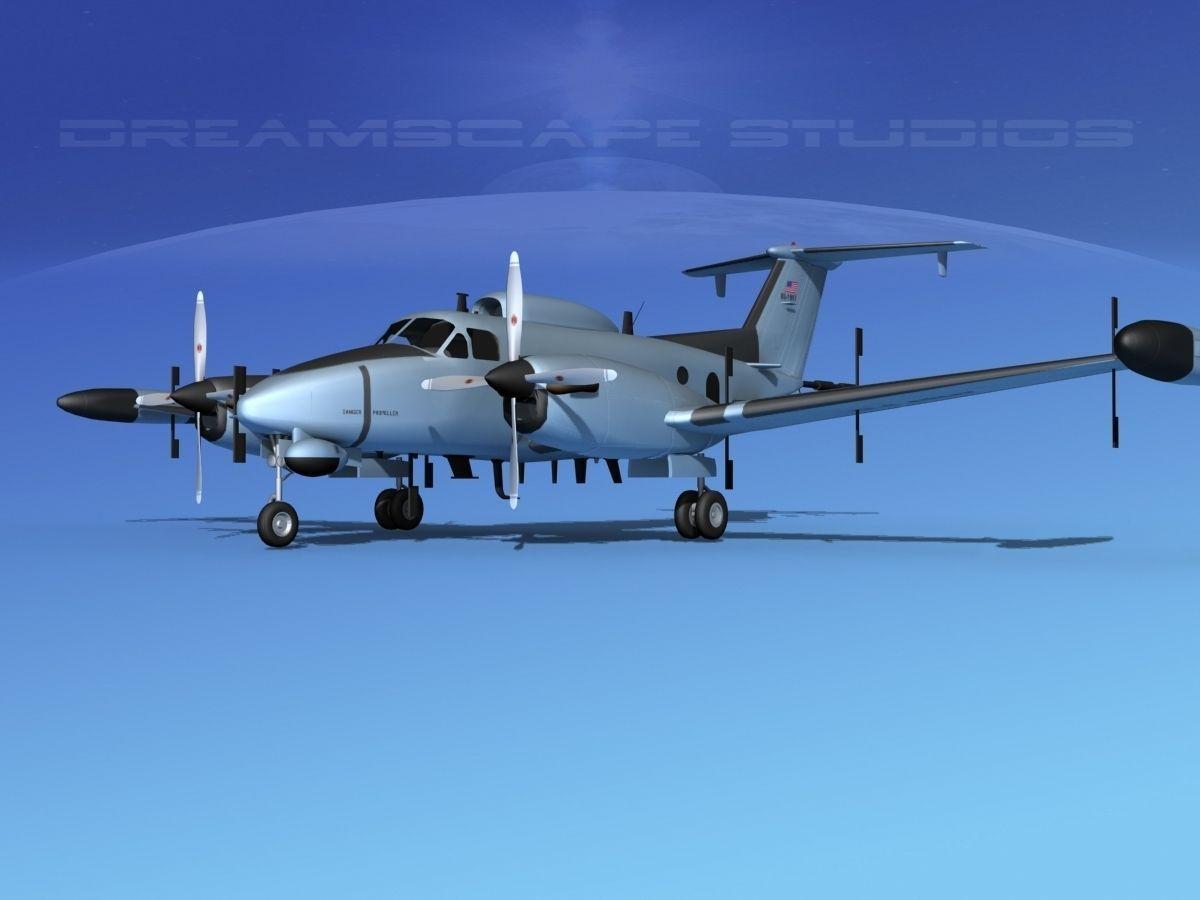 Beechcraft RC-12N Guardrail USAF 1