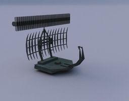 Radar 02 3D asset