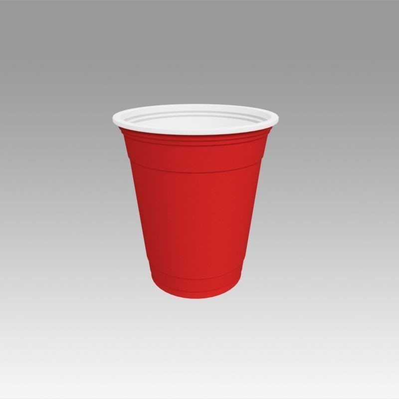 3D model coffee Plastic Cup   CGTrader