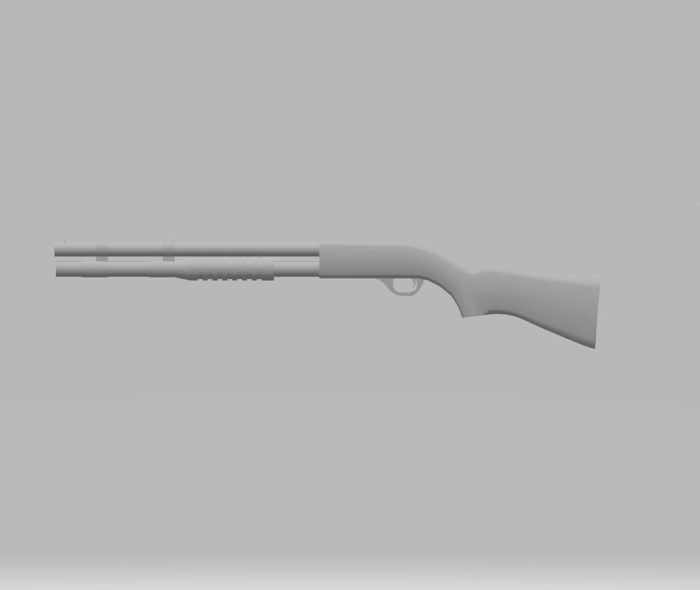 MP-133 | 3D model