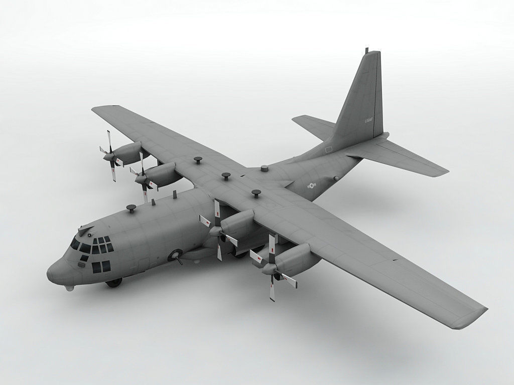 Lockheed AC-130W Stinger II Aircraft