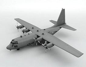 3D asset Lockheed AC-130W Stinger II Aircraft