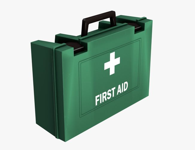 first aid kit 3d model max obj mtl fbx 1