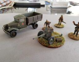 3D printable model WW2 Soviet Red Army Gaz Truck - Cargo 2