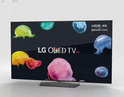 LG 55 OLED TV B6 OLED55B6V 3D