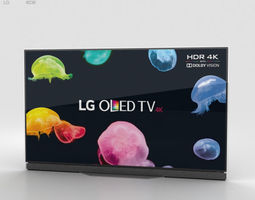 LG 65 OLED TV E6 OLED65E6V 3D