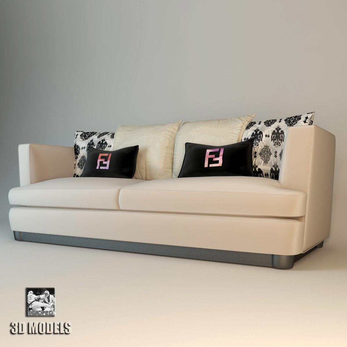 Brilliant Fendi Lotus Sofa 3D Model Andrewgaddart Wooden Chair Designs For Living Room Andrewgaddartcom