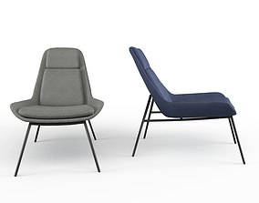 Eero Accent Loung Chair 3D model