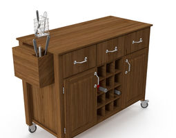 Kitchen cabinet 5114 3D model