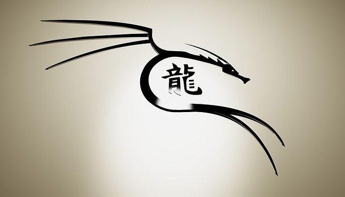 dragon logo 3d model cgtrader