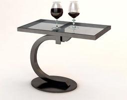 Andrew Martin Dillon Side Table 3D model