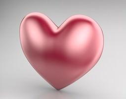 3d model heart icon 2