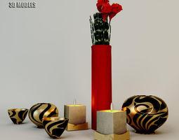 3D model Armani Casa Acessories