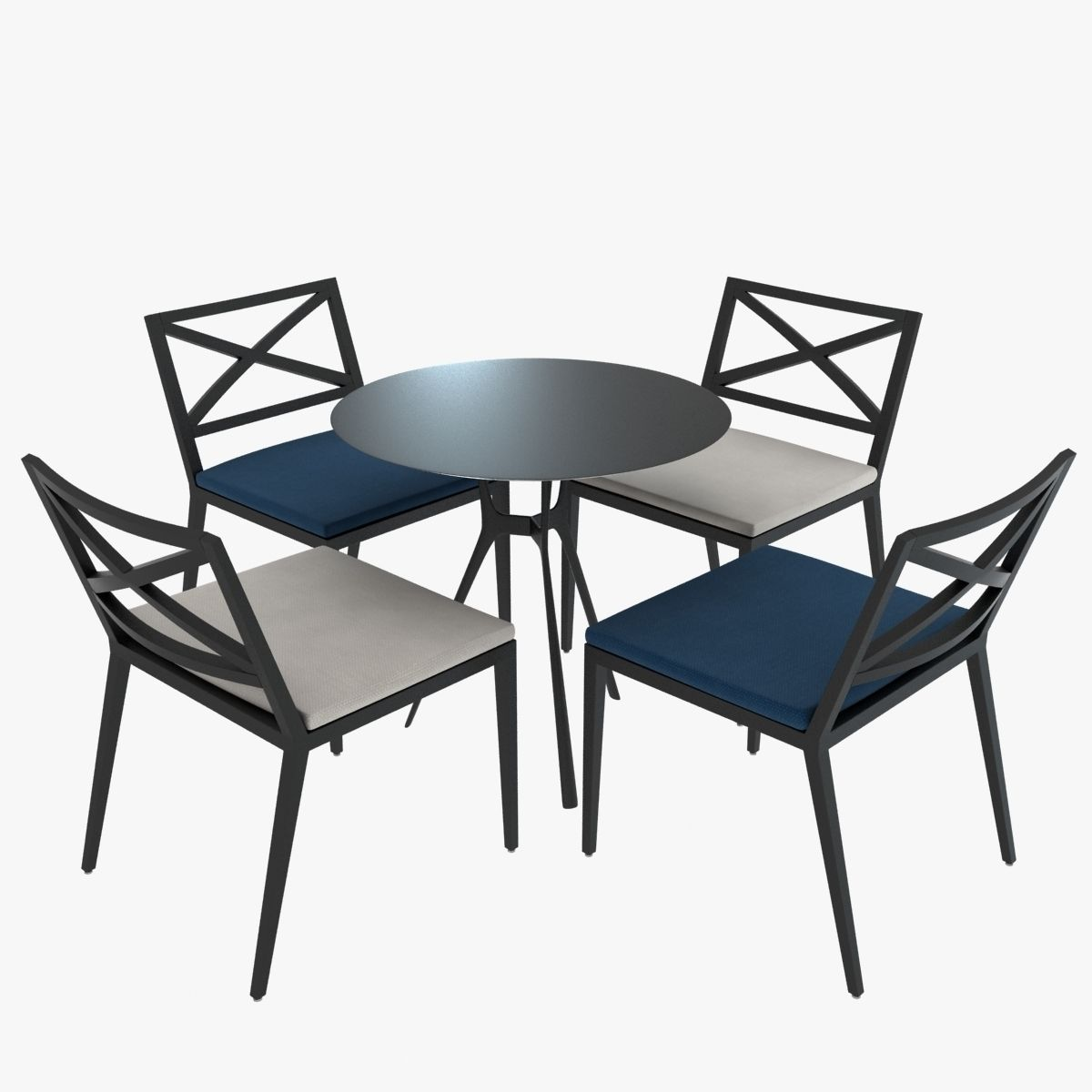 Janus Modern Table and Chairs