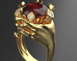 Seven deadly sin Wrath 3D printable model