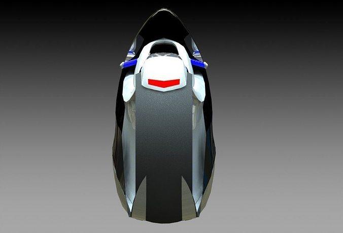 motorbike 3d model stl 1