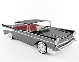 3D model 1957 Chevrolet