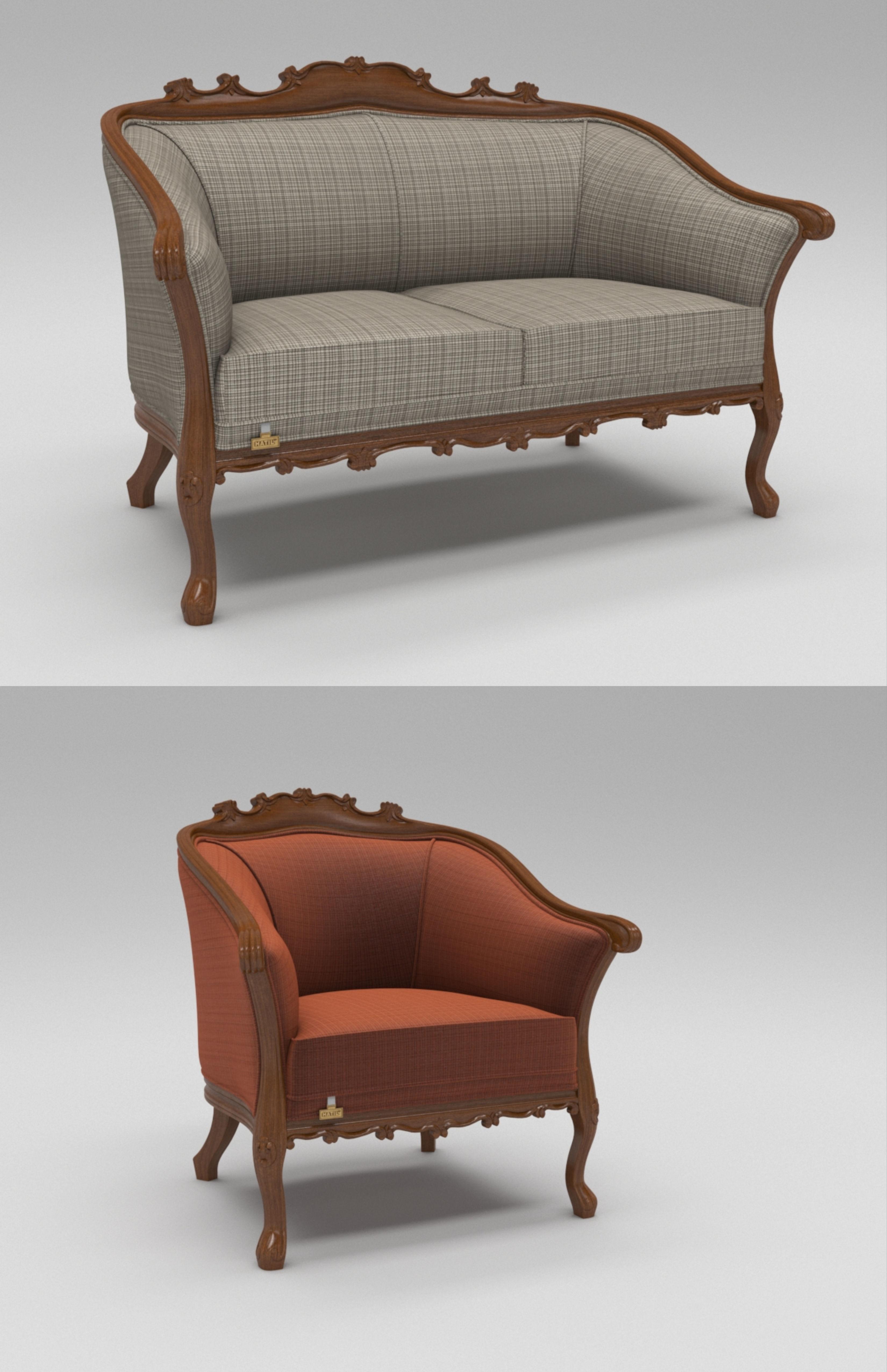Morrano Sofa 3D Model