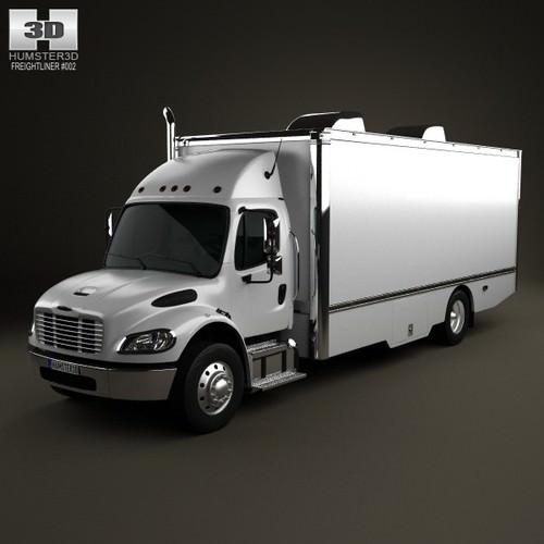Freightliner M2 106 Custom Tool Truck 2012 3D Model MAX