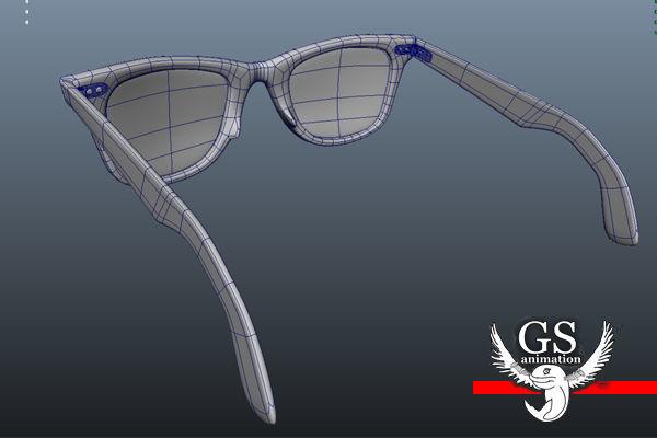 c17f4c5ae6 ... rayban wayfarer sunglasses 3d model max obj mtl fbx ma mb 6 ...