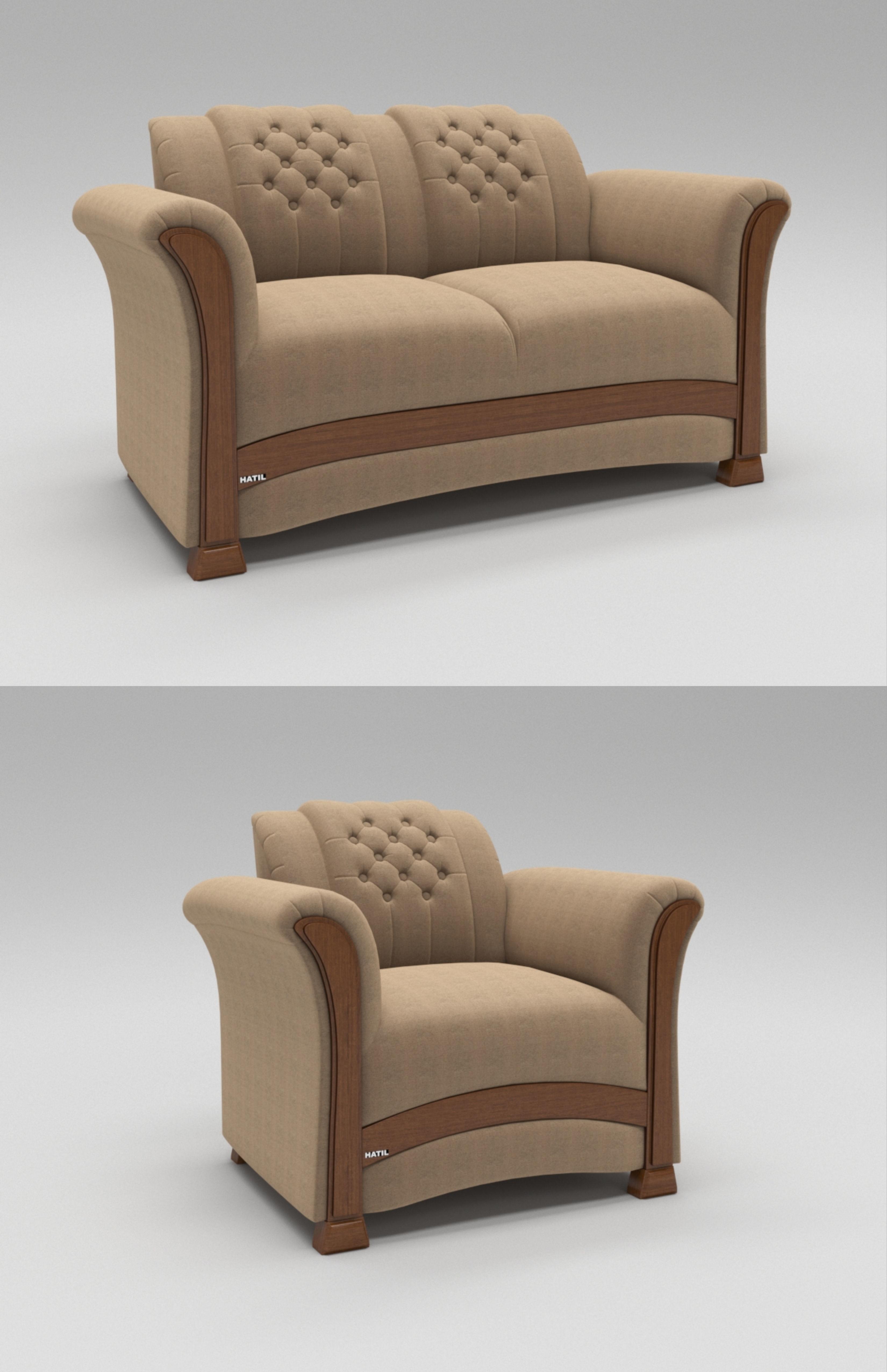 Swinton Sofa 3D