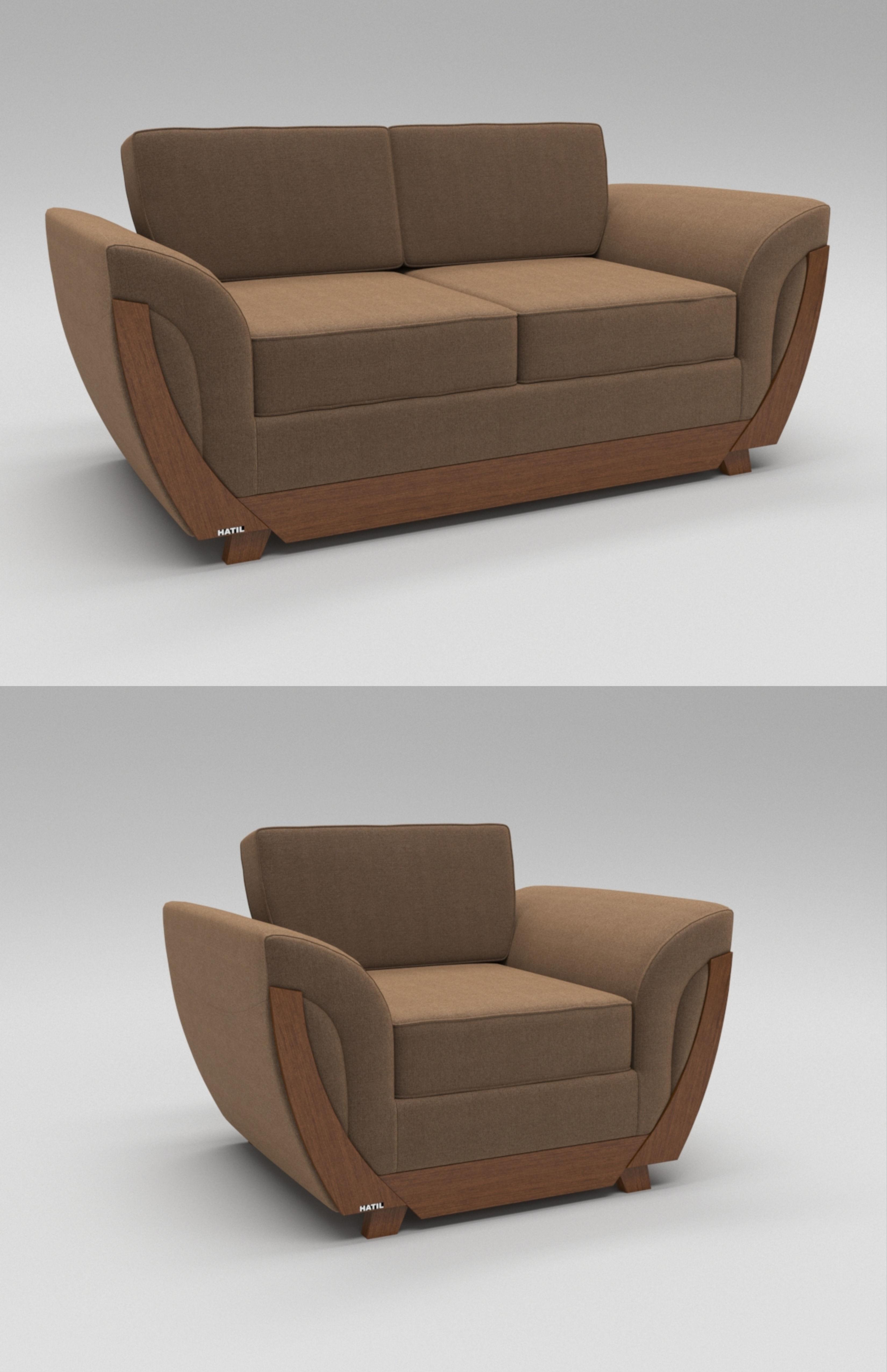 Contemporary Sofa Luxury 3D