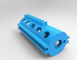 3D print model AEP - piston one piece full teeth