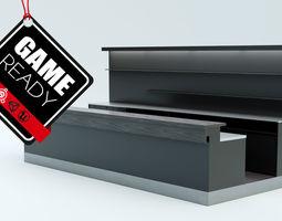 Bar Counter 3D asset PBR