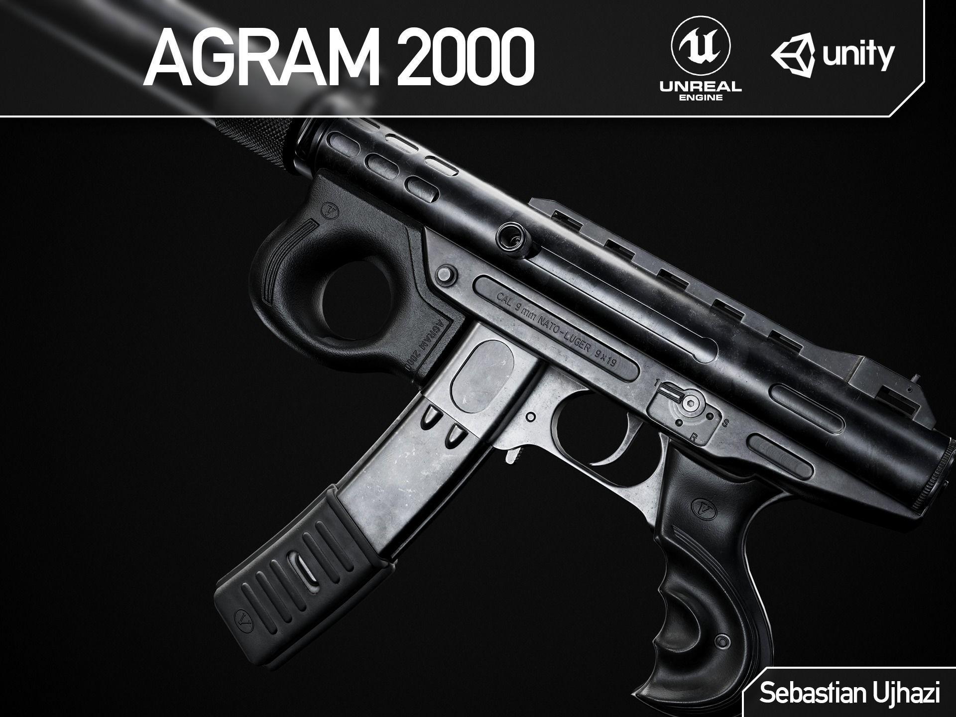 Agram 2000 - Game Ready PBR Asset