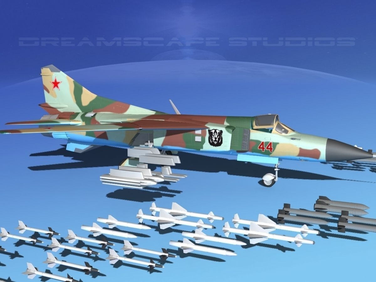 Mig 23 Flogger B V07 Russia
