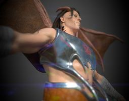 3D model Demonic Man