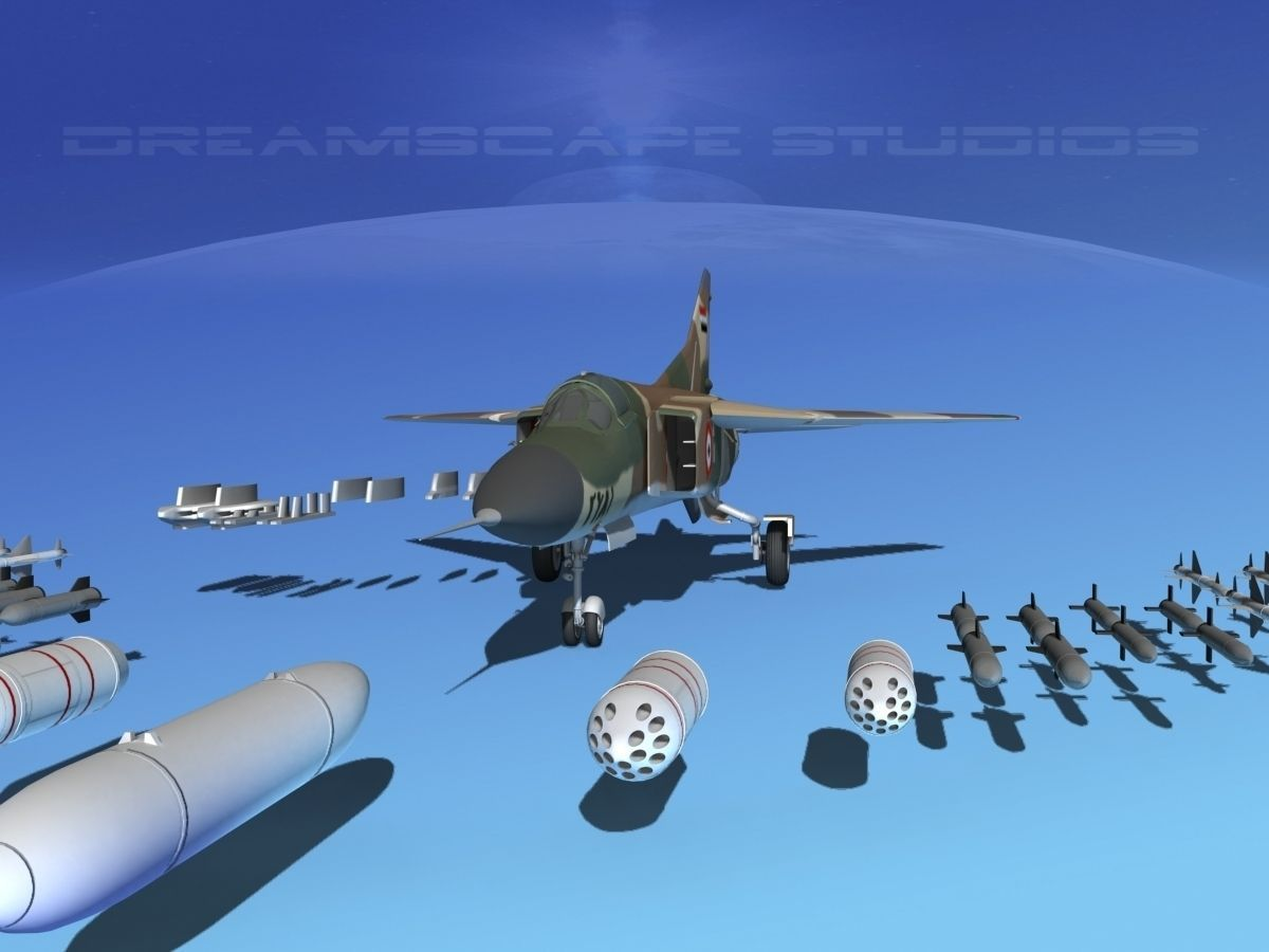 Mig-23 Fighter Syria