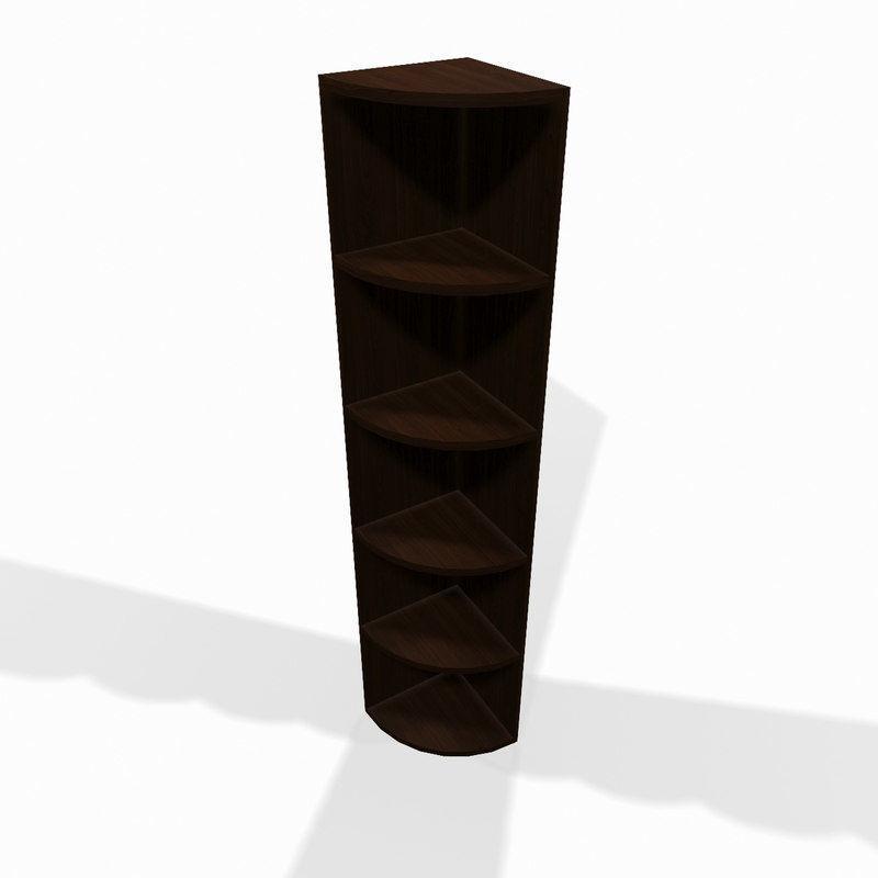 Tremendous Wooden Corner Shelf 3D Model Download Free Architecture Designs Itiscsunscenecom