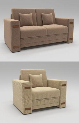 Modern Luxury Sofa Model Max Fbx 1