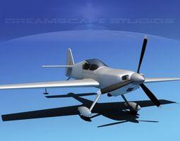 MX-2 Aerobatic Sport Bare Metal 3D model