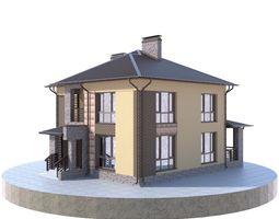 Residential house BP-16 3D