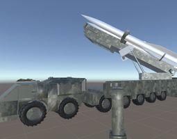 3D asset Long Range Missile