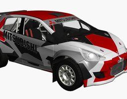 Mitsubishi R5 Rally 3D