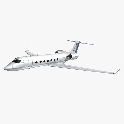 gulfstream 550 gulfstream house colors 3d model animated max obj mtl 3ds lwo lw lws hrc xsi dxf 1