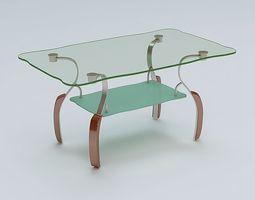 3D model magazine Center Table