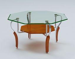 3D Center Table architecture