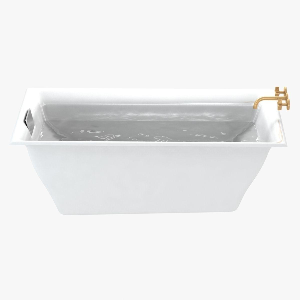 Kohler Bath Kallista Tap 3d Model Max Obj 3ds Fbx Mtl