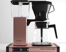 3D model MoccaMaster KB 741 AO Copper Color by Techni Vorm