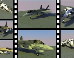 Aircraft Package 3D model