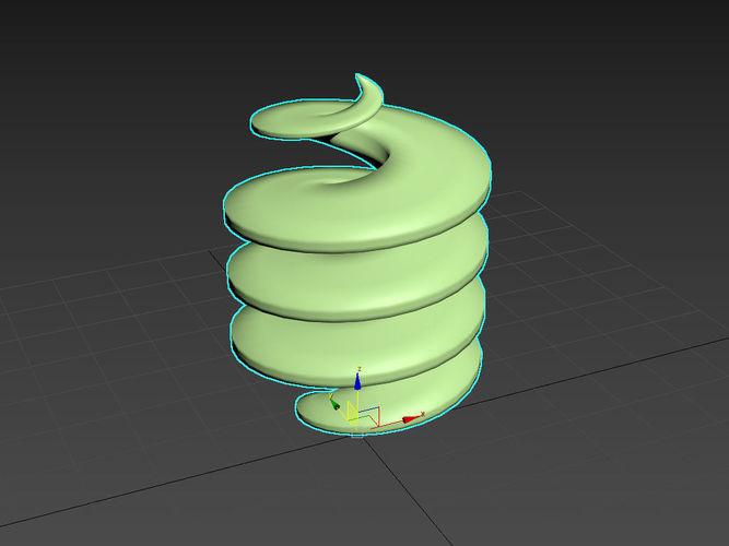 mcg screw 3d model ms 1
