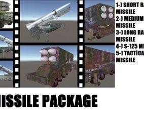3D model Missile Package